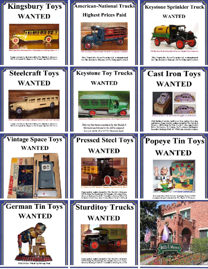Toy Appraisal, Vintage Toy Appraisals, Buying antique toys free appraisals, Buddy L Toys Appraisals, Battery operated toys appraisals, battery operated japanese toys values, buying antique buddy l toys, buddy l truck value guide, buddy l toys reference guide, buddy l coal truck value, buddy l dump truck value, free toy appraisal